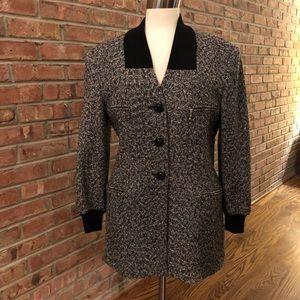 Escada by Margaretha Ley 90's wool jacket